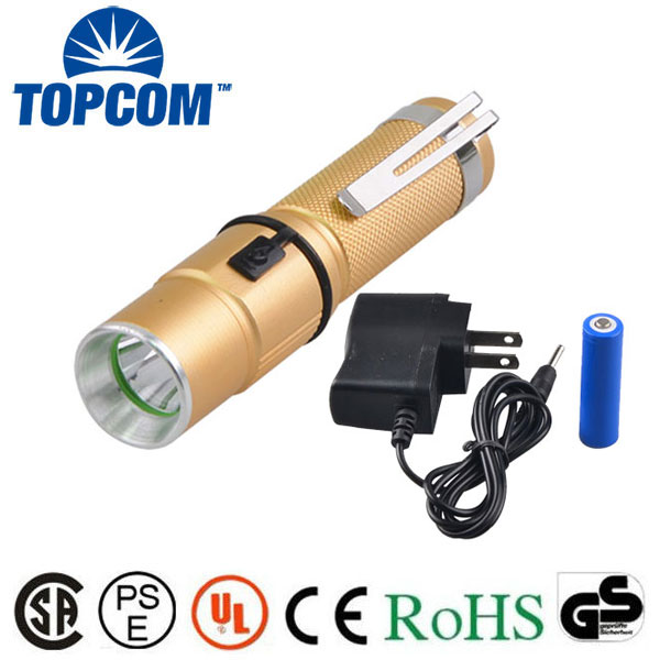 [Free ship]TopCom Rechargeable Flashlights