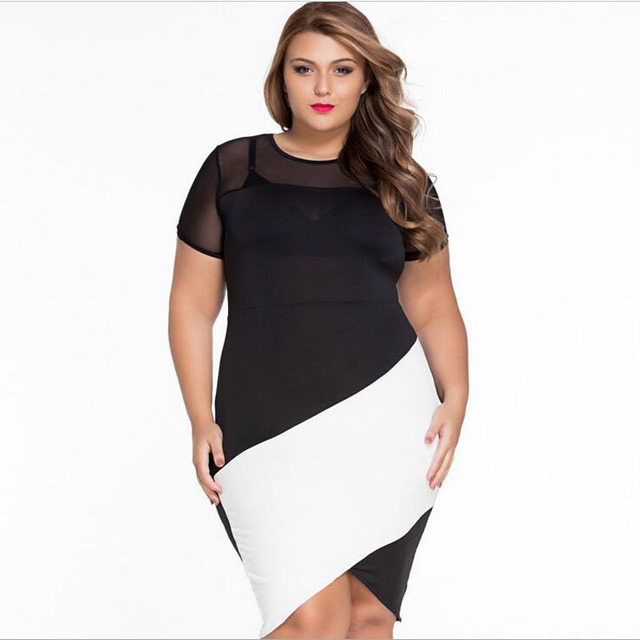 Women color block dresses