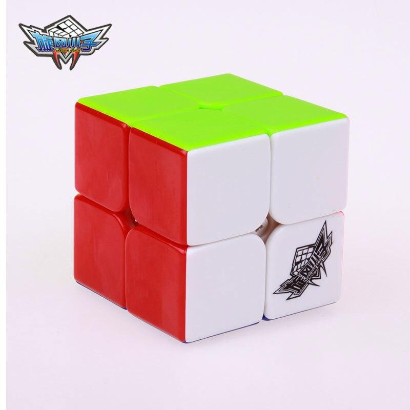 Cyclone Boys Professional Speed Magic Cube 2x2x2 Klisterlös - Spel och pussel - Foto 2