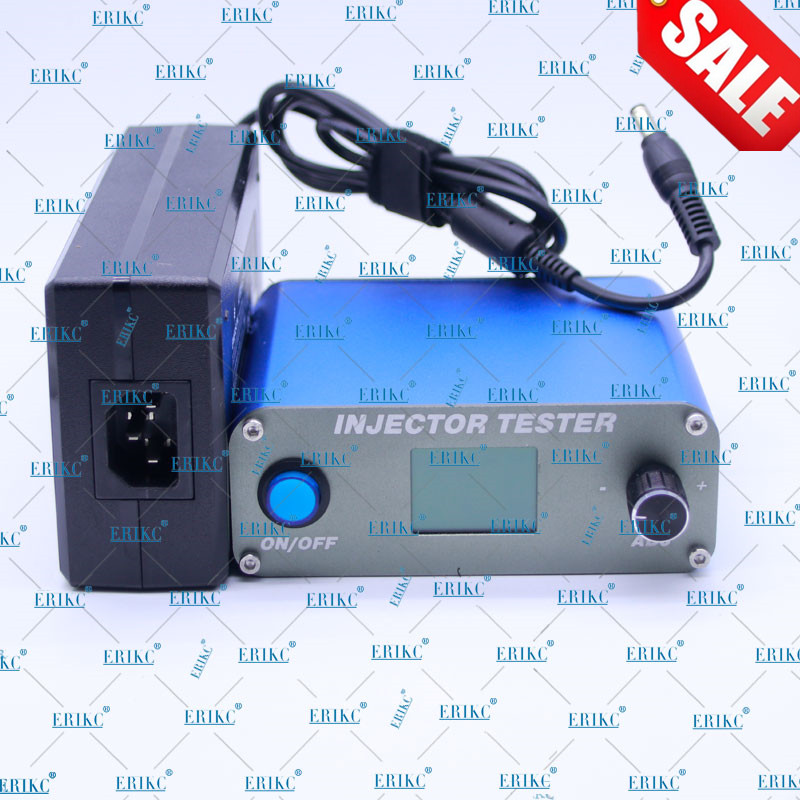 ERIKC Hottest Common Rail Pump Tester Simulator and Heavy Duty Diesel Injector Nozzle Tester Fuel Injectiorn Test Equipment common rail injector fuel diesel engine 0445120134 diesel injection nozzle assembly 0 445 120 134 and auto engine