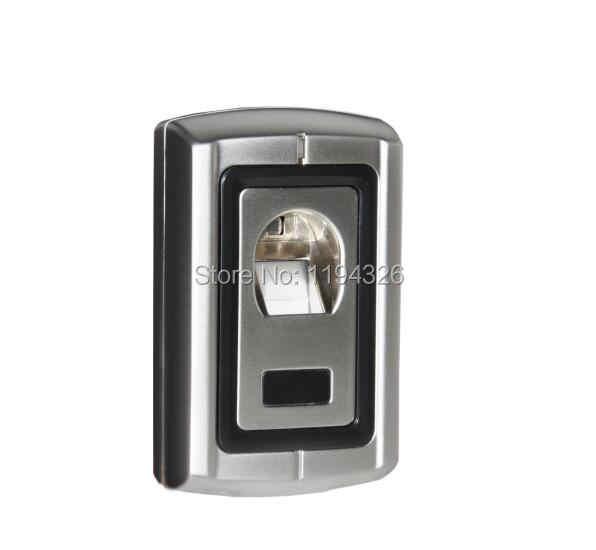 Empreinte digitale en métal Anti-vandale 125 KHZ et contrôle d'accès de carte d'em/support de F007EM-II de lecteur inter-verrouillé, anti-bourreur, alarme de porte