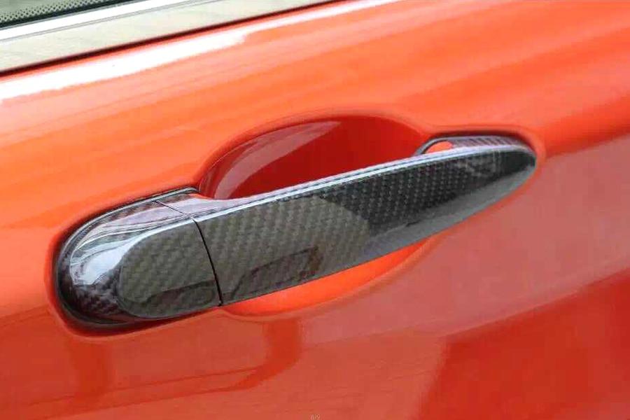 Боковые карбоновые дверные накладки с LED отверстие накладка для BMW Х3 f25 привод датчика 4Door 2011-2015