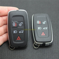 PINECONE for LAND ROVER RANGE ROVER SPORT 2010 2011 2012 DISCOVERY 4 Car Key Case 5 Buttons Remote Blank Key Shell Cover 1 PC