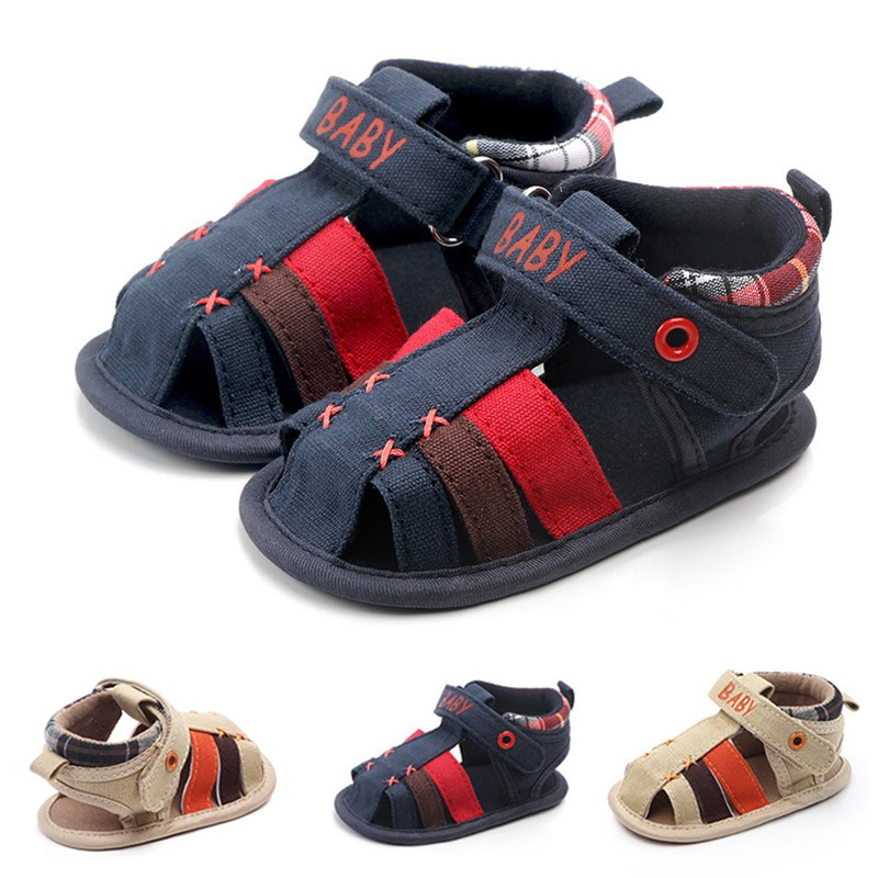 Infant Boy Girl Insert Prewalkers Shoe Summer Canvas Newborn Baby Shoes Baby Girl Hollow Letter Soft-Soled Crib Shoes