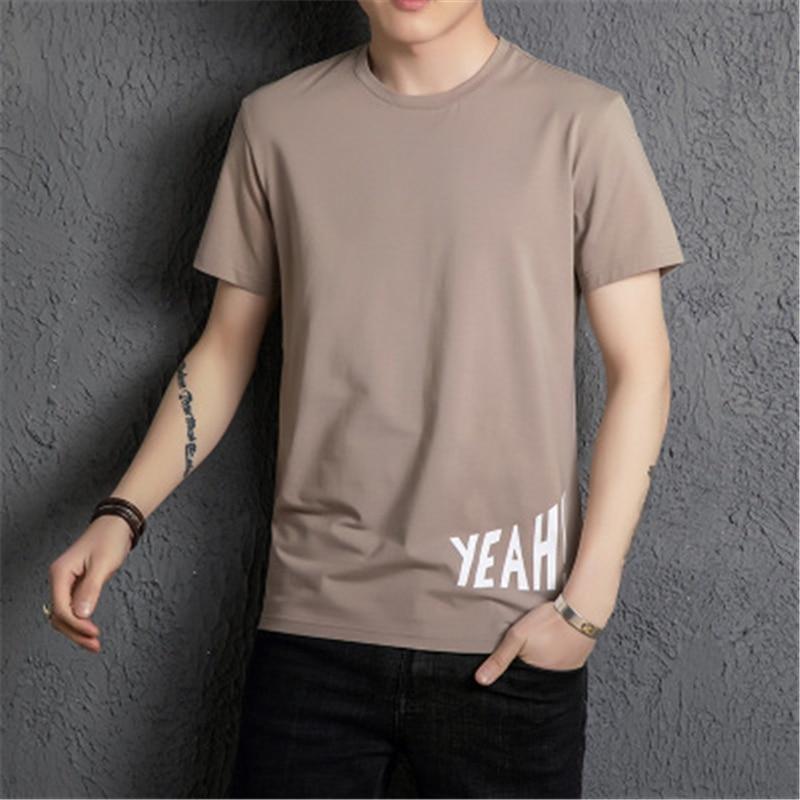 cou T O Explosifs kaki Courtes vert shirts Noir Casual 10 New Coton shirt Tops 3xl De blanc Manches 2018 lot Summer Pcs T Vêtements Hommes Xx6q0wZg
