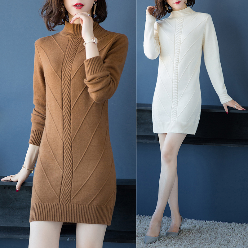 Maternity Autumn and winter thick long sleeve sweater women long O-Neck loose warm tide sweaters N176 серебряное колье ювелирное изделие np964
