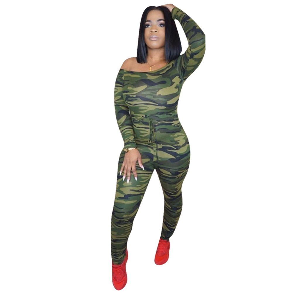 camo jumpsuits