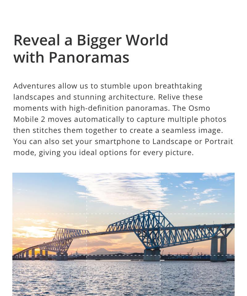 DJI Osmo Mobile 2, 3-Axis Handheld Stabilizer, Smartphone Gimbal