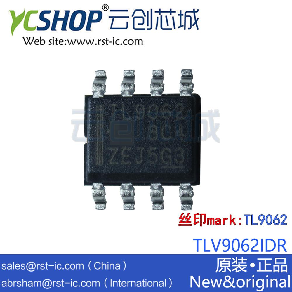Operational-Amplifier For Cost-Sensitive-Systems TLV9062IDR Amps Low-Noise SOP-8 10-Mhz