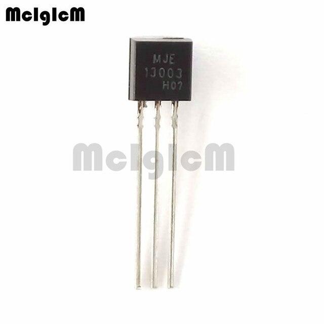 MCIGICM 5000PCS MJE13003 E13003 13003 트랜지스터 TO 92 13003A 3 극 트랜지스터