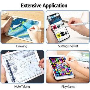Для Apple iPad Pro 11 12,9 10,5 9,7 2018 2017 стилус для активных сенсорных ручек смарт-карандаш для емкостных карандашей для iPad mini 5 4 3 2 1 Air 1 2 3