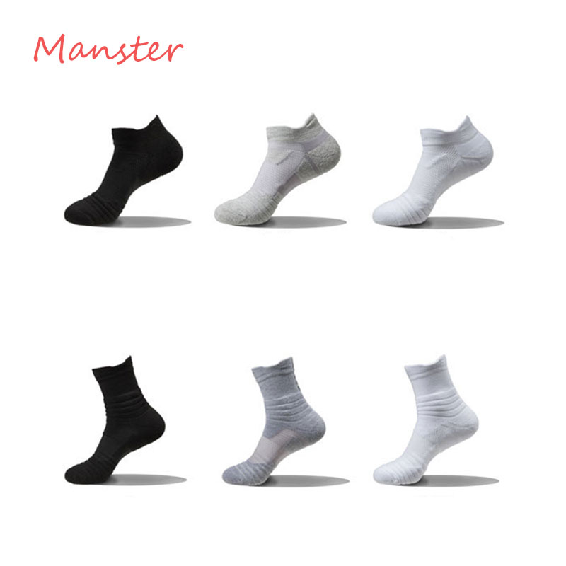 Men Socks Autumn Winter Male Thermal Compression In Tube Cotton Socks Kobe James Curry Durant Socks Casual Thick Sock in Men 39 s Socks from Underwear amp Sleepwears