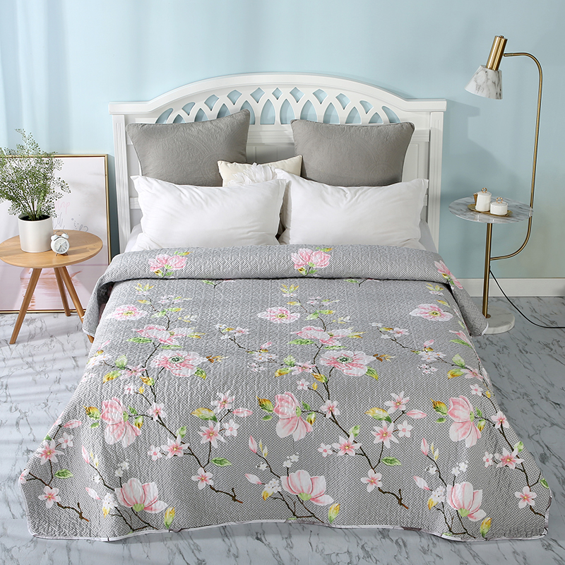Bedspread Summer Quilted Flower Quilt Bedding Throws Blanket Plaids Coverlet Bed Cover Quilting Home Textiles sw