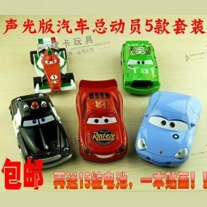 Domestic WARRIOR 2 acoustooptical oversized alloy toy car 5 set
