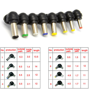Image 5 - Universal 80W DC Car Charger Laptop Notebook Adapter Adjustable LED Auto Power Supply Set + 8 Detachable Plugs Computer Charger