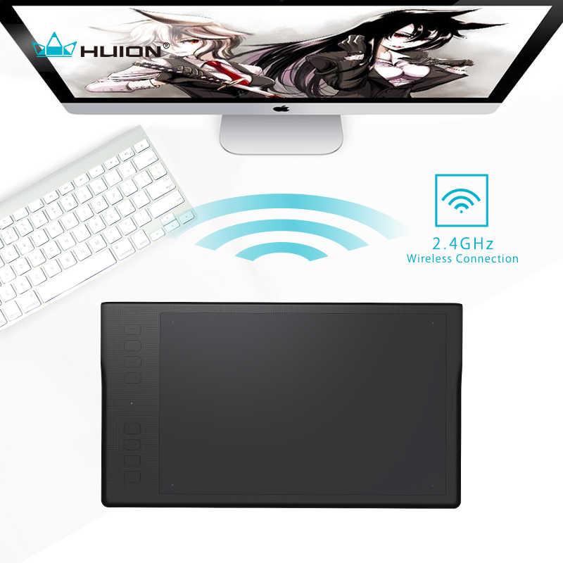 Nouveau Huion Inspiroy Q11K sans fil graphique dessin tablette numérique stylo tablette