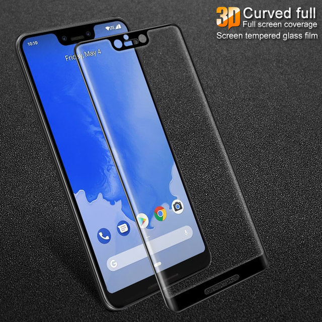 factory price 7cd15 a499a US $8.99  IMAK Brand For Google Pixel 3 XL Tempered Glass 3D Curved Full  Cover Screen Protector High Definition Protective Film-in Phone Screen ...