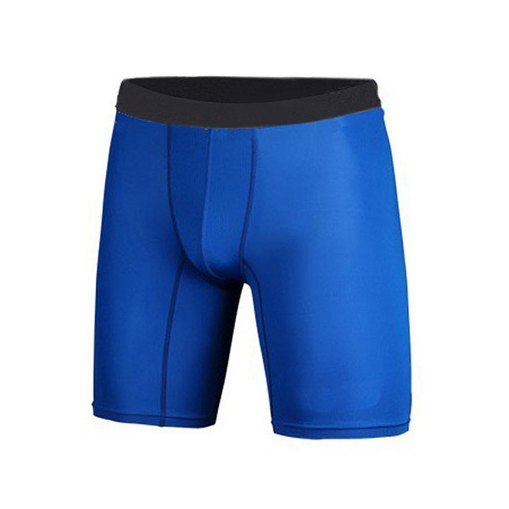 4 Colors Men Fitness Sports Quick-drying Compression Breathable Shorts Athletic Training Skin Tight Base Layer Shorts