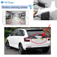 YESSUN For Skoda Rapid Spaceback (hatchback) 2012~2016 back up Reverse Camera Auto Wireless Rear View Camera Rear View Camera