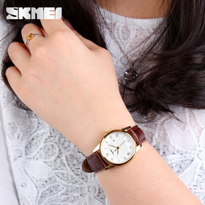 Image 5 - 2020 SKMEI brand watches men quartz business fashion casual watch full steel date women lover couple 30m waterproof wristwatches