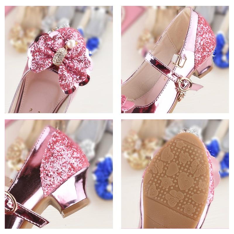 Niña princesa zapatos de cuero niños niñas bailando zapatos boda y - Zapatos de niños - foto 5