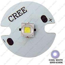 5 ШТ. Cree XLamp XP-E2 XPE2 Холодный Белый 6000 К-6500 К 3 Вт Высокой Мощности Светодиодные Эмитент w/16 мм Радиатор
