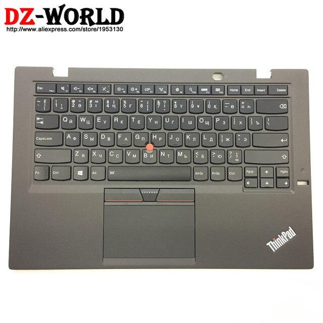 US $115 5 |New/Orig for Thinkpad X1 Carbon Gen 3 20BS 20BT Kazakh Russian  Backlit Keyboard w/ Palmrest Touchpad 00HT318 00HN963 SM20G18623-in