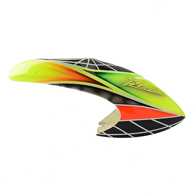 Original XLPOWER 520 RC Helicopter Spare Parts Canopy Green Replacement Accessories Accs For RC Helicopter Toy Models XL52C02 free shipping walkera original servo super cp rc spare parts accessories accessory rc helicopter