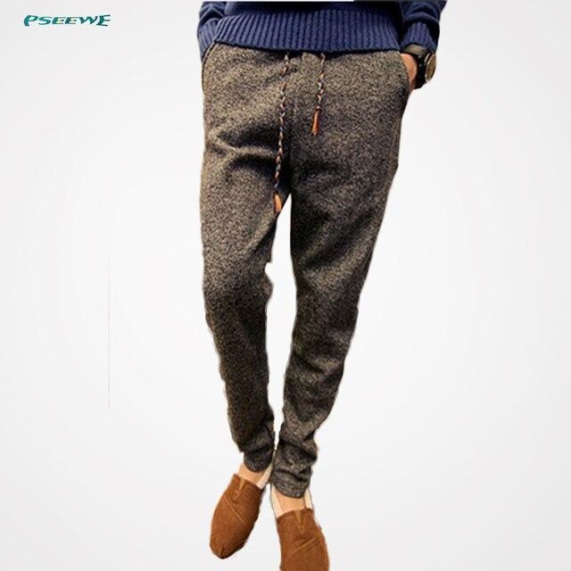 Caliente nuevo 2016 hombres pantalones precio barato workout haren los pantalones de los hombres basculador pantalones slim fit más tamaño al aire libre joggers