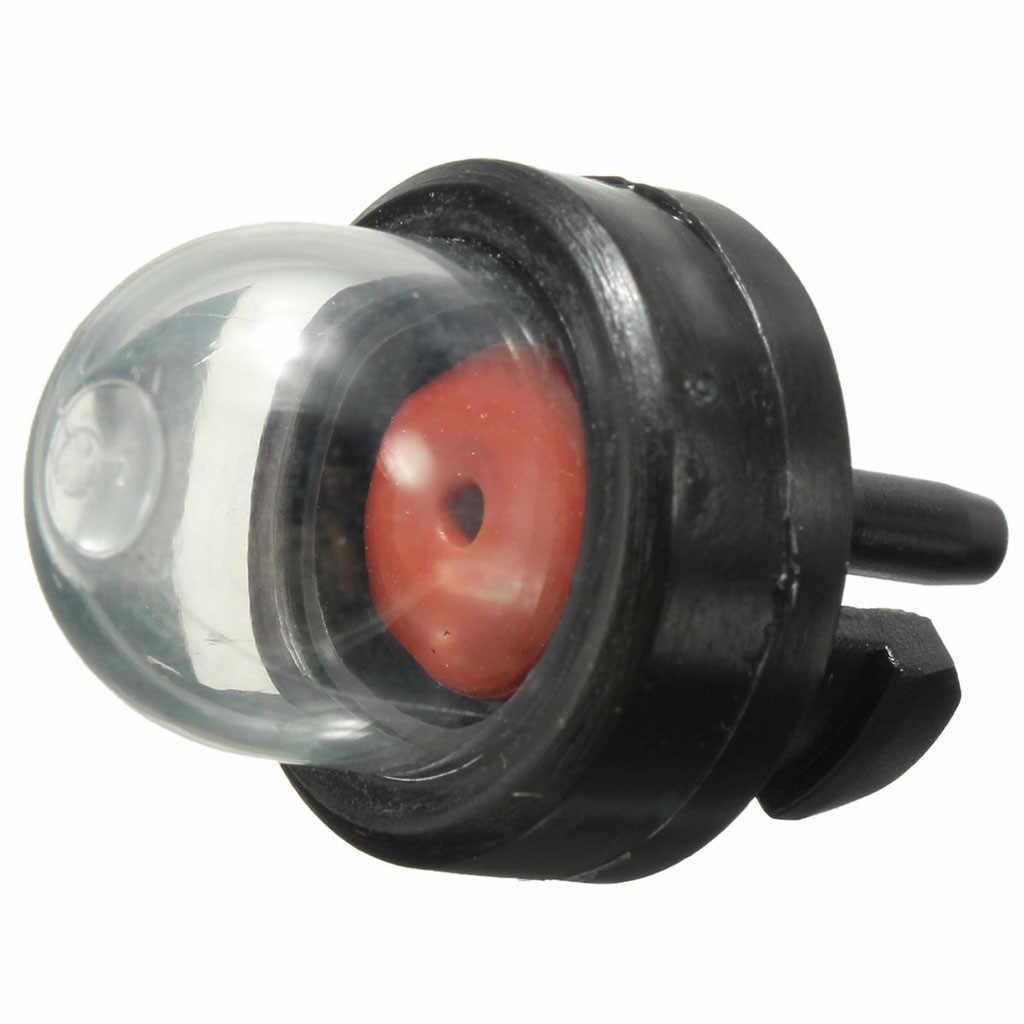 1 unids/set carburador de aceite de burbuja de gasolina Snap en el Kit de bomba de bombilla de combustible Primer para Ryobi Walbro Husqvarna Chainsaws recortadora transparente 4,0 #