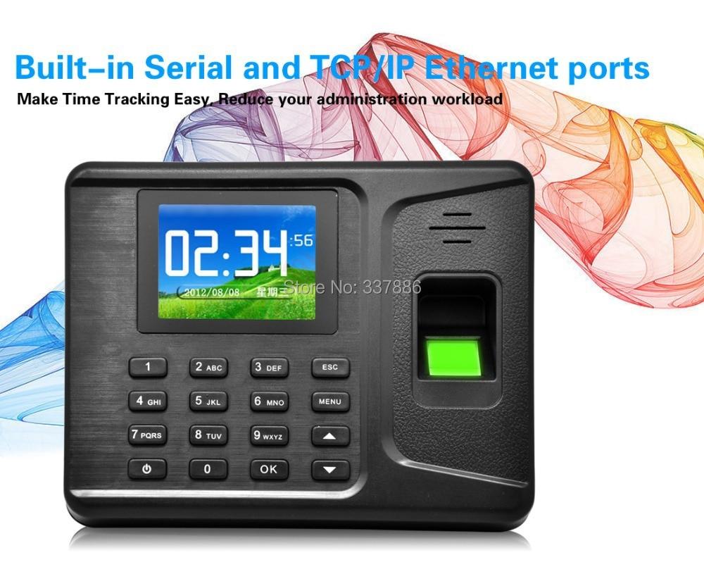 ФОТО 2.8 inches TFT Screen Fingerprint/Password/ID card biometric attendance system