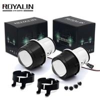 ROYALIN Nebel Licht Objektiv Volle Metall Für Toyota Corolla RAV4 Camry Yaris Lexus 2 5 Bi Xenon Projektor Objektiv Wasserdichte H8 h11 Lampen|Autozubehör|Kraftfahrzeuge und Motorräder -