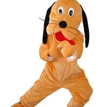 Маскарадные костюмы стиль мультипликационный персонаж пес Плуто костюм талисмана нарядное платье на Хэллоуин Детский костюм для вечеринок