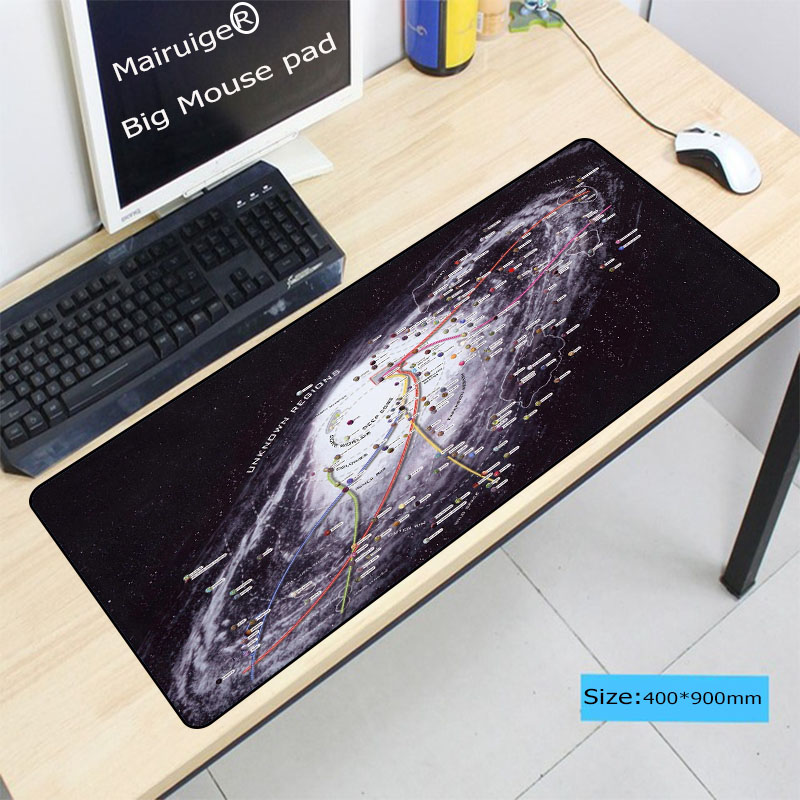 Mairuige Star War Space MousePad Large Pad for Rubber Laptop