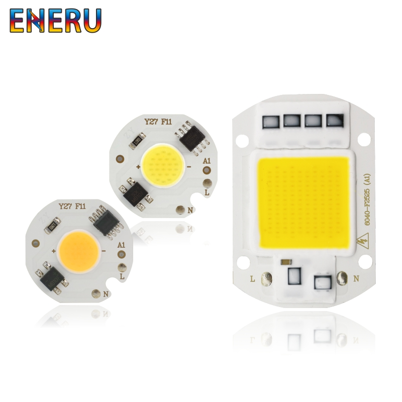 <font><b>LED</b></font> <font><b>COB</b></font> <font><b>Chip</b></font> Lamp 10W 20W 30W <font><b>50W</b></font> 220V Smart IC No Need Driver <font><b>LED</b></font> Bulb 3W 5W 7W 9W for Flood Light Spotlight Diy Lighting image