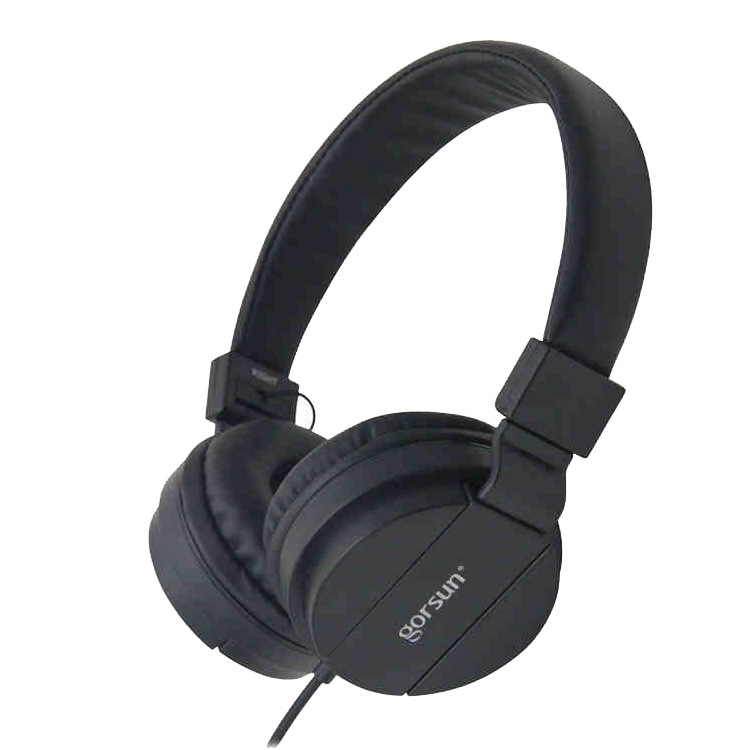 Wied Headphones Earphones Computer Gaming Headset with 3.5mm AUX Foldable Portable Deep Bass For Phones MP3 MP4 PC without MIC