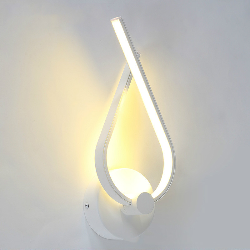 Modern Led Wall Lamp Bedroom Wall Sconce White Indoor Lighting Lamp Ac100-265v  Wall Light Indoor Lighting Led Sconce Indoor led crystal wall sconce indoor photography lighting led lamp home modern modern style bedside wall lamp bedroom stair wall lamp