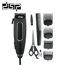 DSP Electric Hair Clipper One Blade Hair Cutter Machine For Barber Hair Trimmer Styling Tools 220-240V 50Hz  12W 100 240v low noise hair cutting machine clipper trimmer titanium ceramic blade hair trimmer cutter tools barber machine men cut