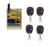 AC 220V 1CH 10A RF Wireless Remote Control Relay Switch Security System Garage Doors Gate Electric