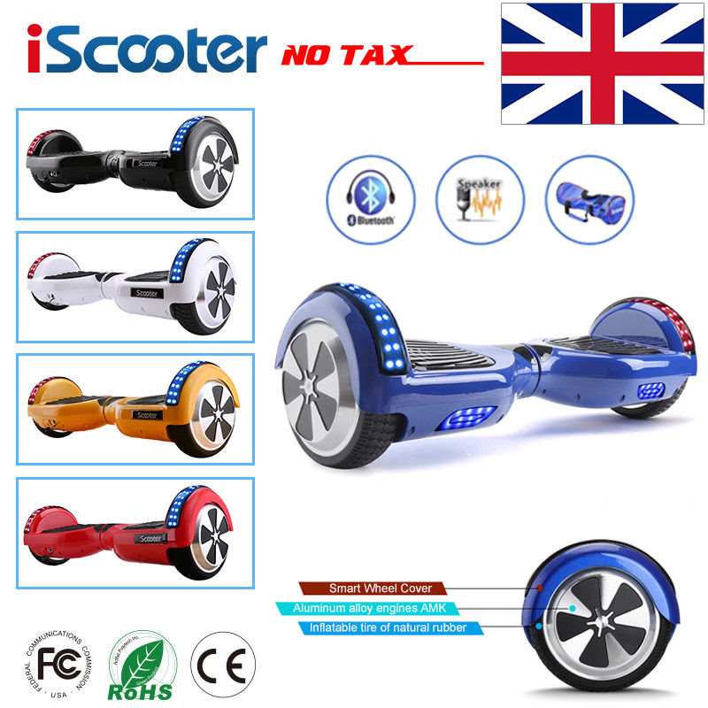 iScooter Hoverboard 6.5 inch Bluetooth Speaker Scooter Skateboard Self balance electric Hoverboard Adult Kid UL 2272 Hoverboard 40km h 4 wheel electric skateboard dual motor remote wireless bluetooth control scooter hoverboard longboard