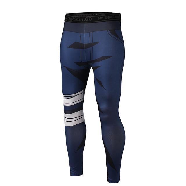 Brand Clothing 2017 New Arrive Mens Pants 3D Print Dragon Ball Z Naruto Skinny Leggings Trousers Fashion Tights Sweatpants M-3XL 5