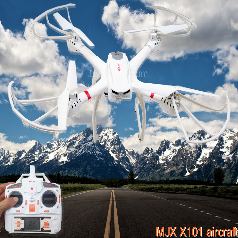 MJX X101 2.4G RC quadcopter drone/drones rc helicopter 6 ...