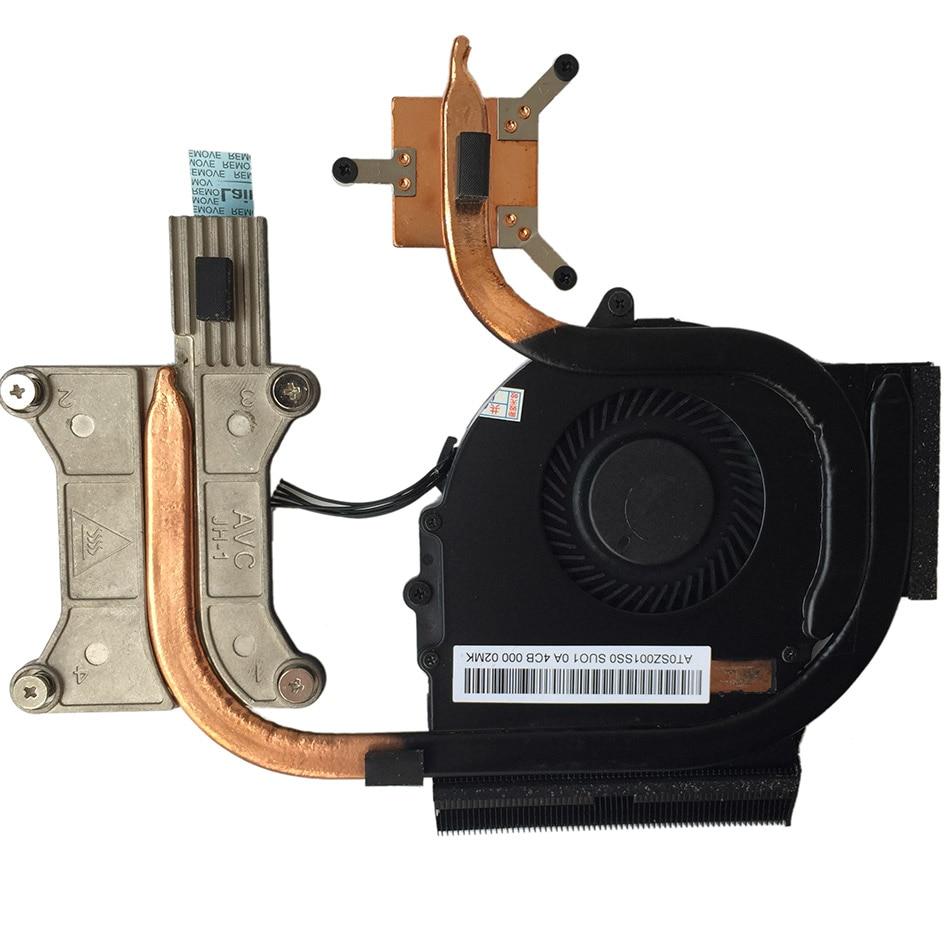 New Original CPU cooling fan For ThinkPAD E431 E531 E440 E540 heatsink FRU 04X4156  5 pins DC 5V 0.5A Free Shipping for asus u46e heatsink cooling fan cooler