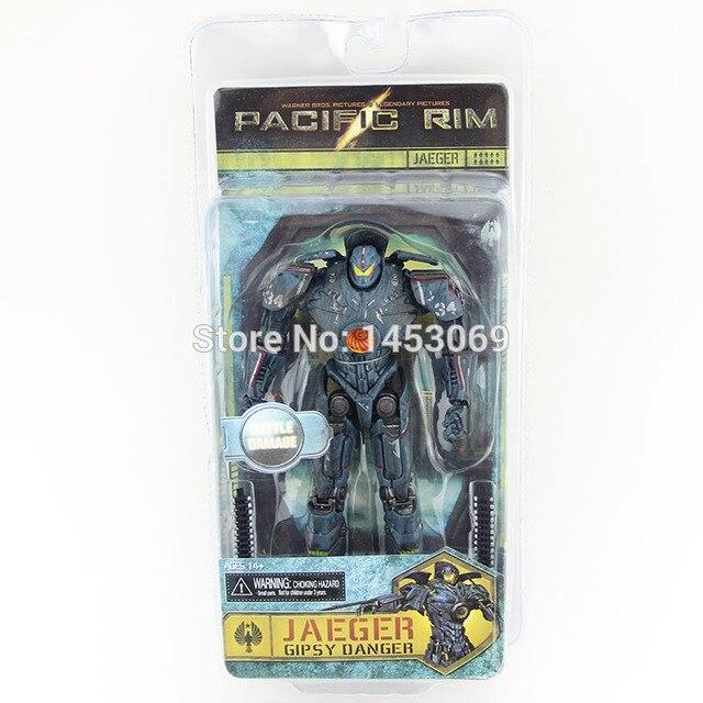 """7.5 """"19 CM Jaeger NECA Pacific Rim Gipsy Perigo PVC Figuras de Ação Collectible Toy Modelo"""