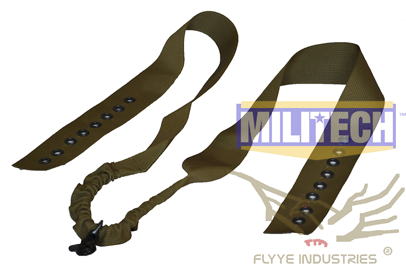 Military Spec Coyote Brown CB CIRAS Tactical Vest Safety Rifle Sling Belt FLYYE FY-SL-S004 Quick Release Vest Rifle Sling