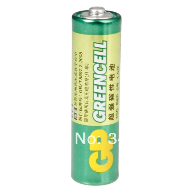 8 шт. оптовая продажа GP greencell AA Батарея 1.5 В 3500 мАч 15 г R6P Батареи Бесплатная доставка