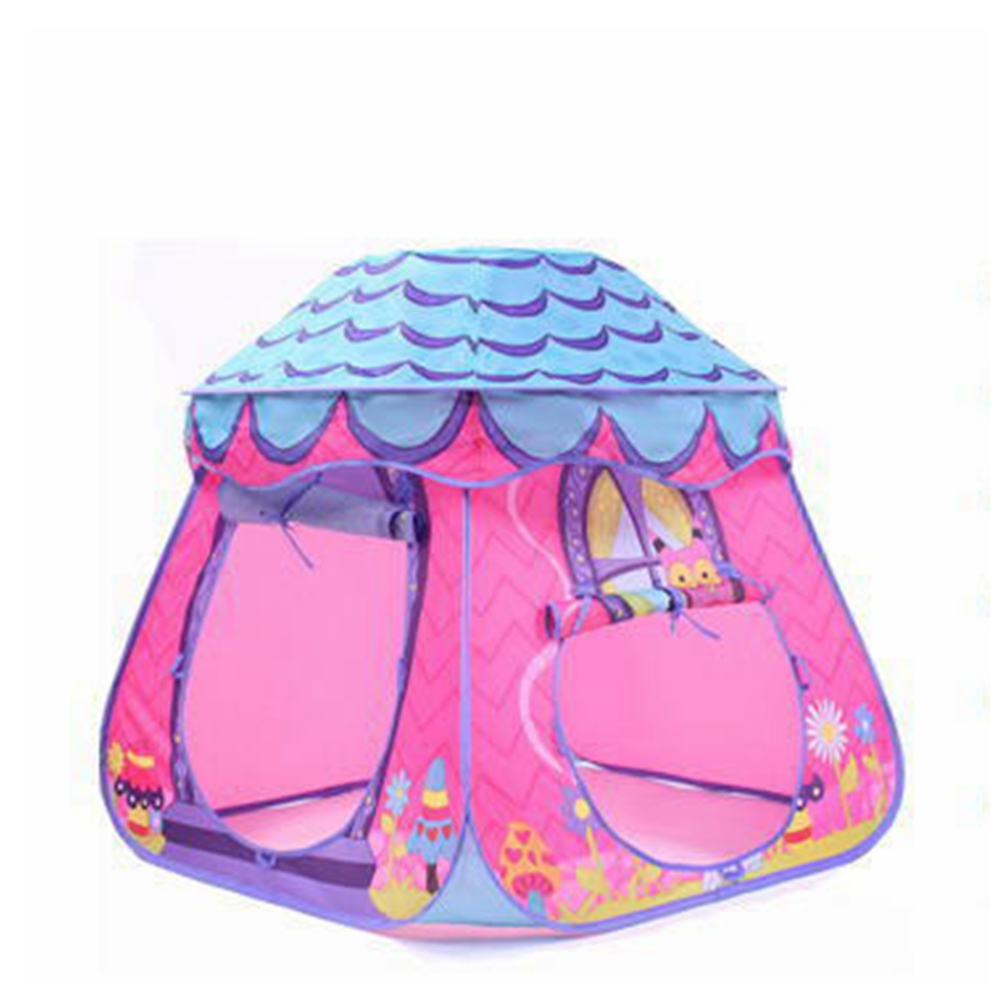 Princess house coloring games - Baby Princess Children Color Tent Play Game House For Kid Toy Color Small House Ocean Ball