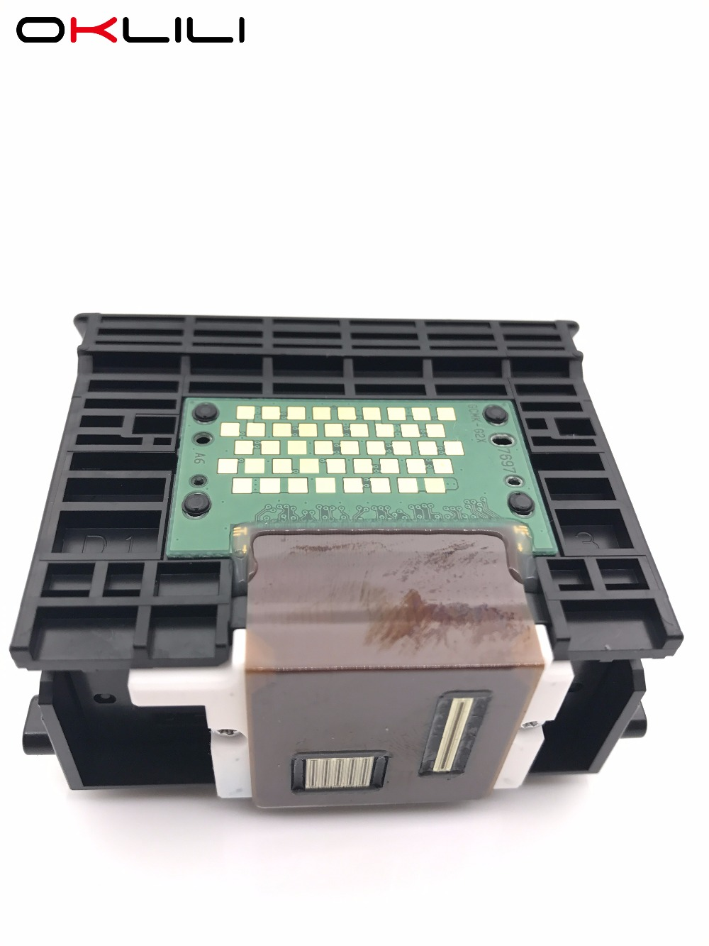 OKLILI ORIGINAL QY6-0070 QY6-0070-000 Printhead Print Head Printer Head for Canon MP510 MP520 MX700 iP3300 iP3500 genuine brand new qy6 0077 printhead print head for canon pro 9500 mark ii printer