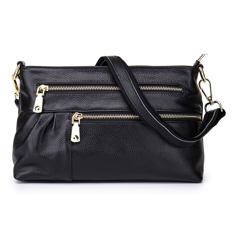 Lady Design Famous Brand Women Messenger Bags Top Layer Genuine Leather Women Bags Real Cow Leather Shoulder Bags Big Capacity