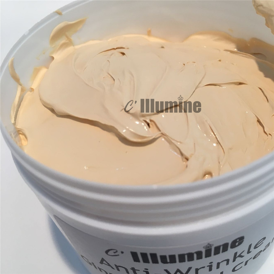 Natural Foundation Makeup Primer Ginseng White Pearl Day Cream Cheese Pearl Cream Whitening Freckle  Skin Care Products 200g